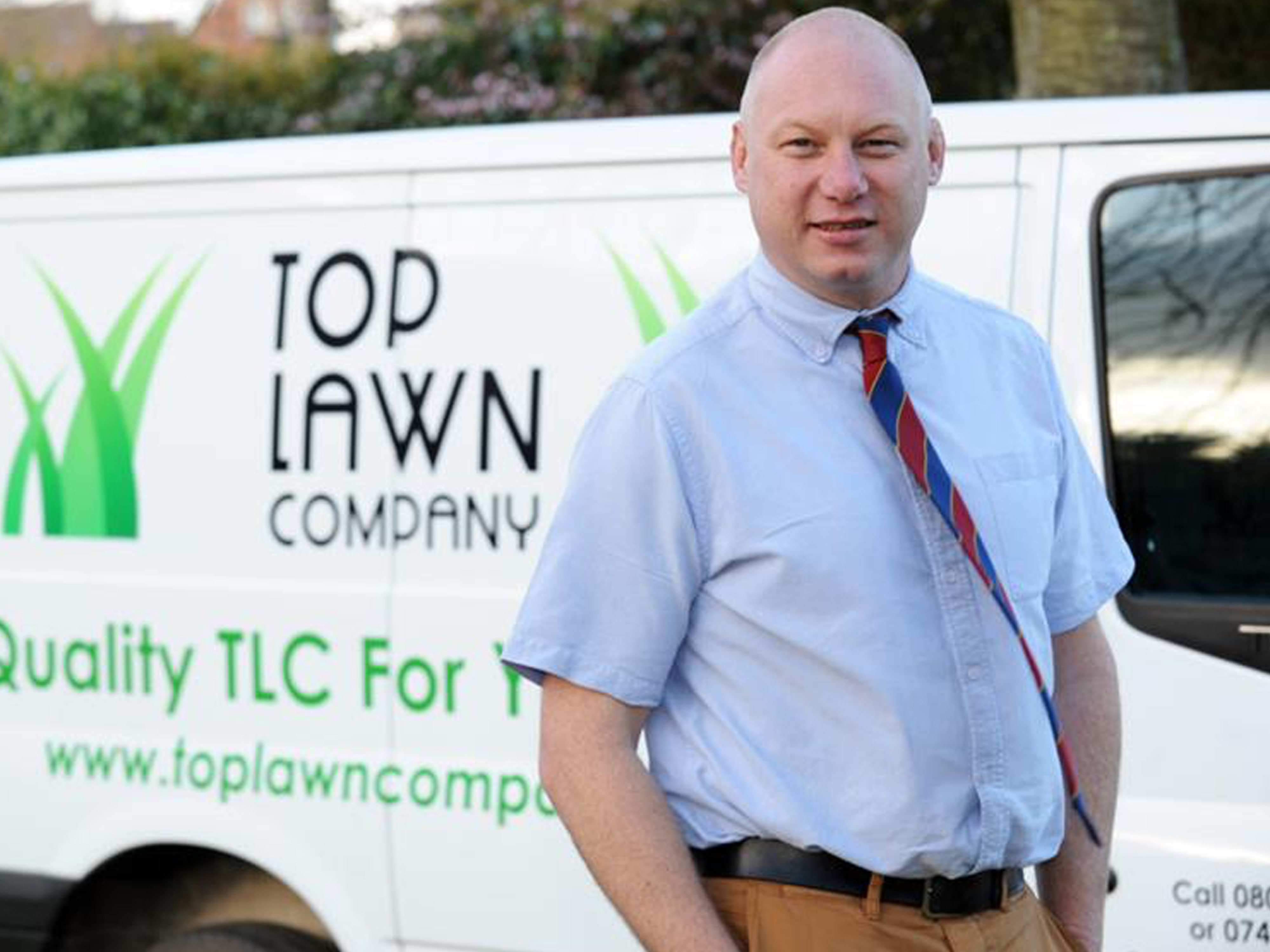 New firm to give lawns in Uttoxeter 'a little TLC'